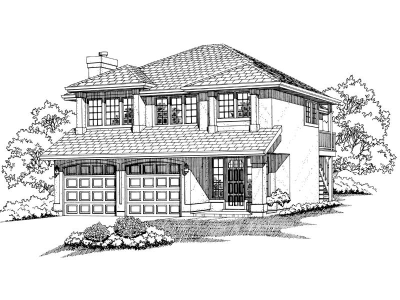 Mcgraw sunbelt home plan 062d 0092 house plans and more for Sunbelt house plans