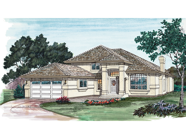 San angelo sunbelt home plan 062d 0115 house plans and more for Sunbelt homes