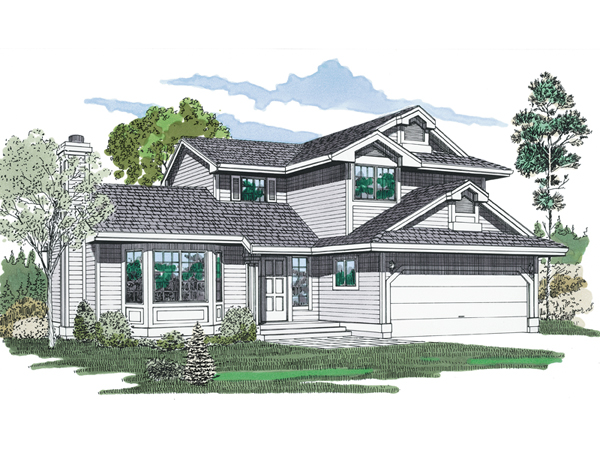 Rutherford bay contemporary home plan 062d 0138 house for Rutherford house plan