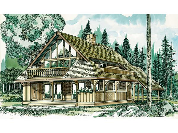 Bradden Peak Mountain Home Plan 062d 0147 House Plans