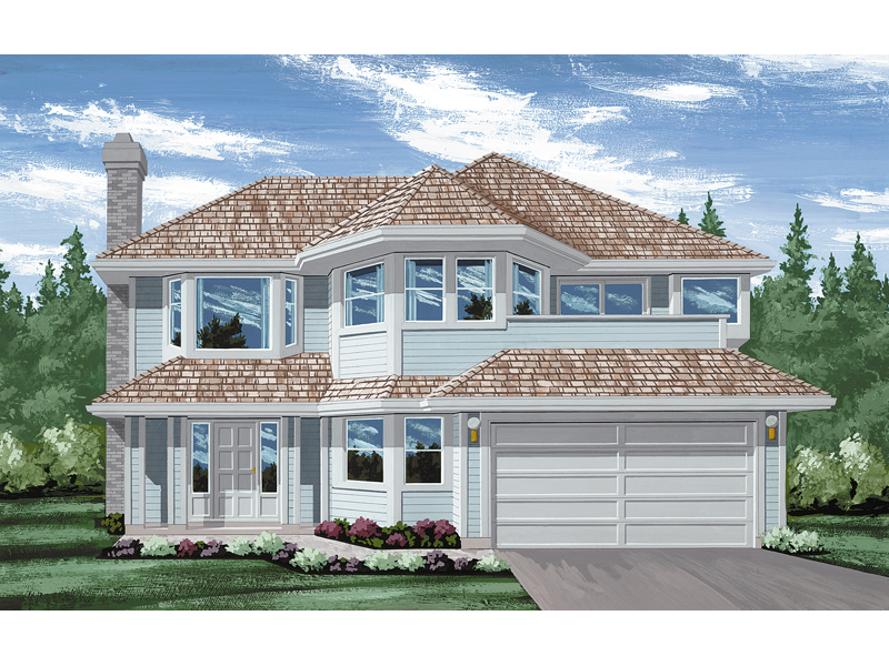 Traditional House Plan Front of Home - 062D-0209 | House Plans and More