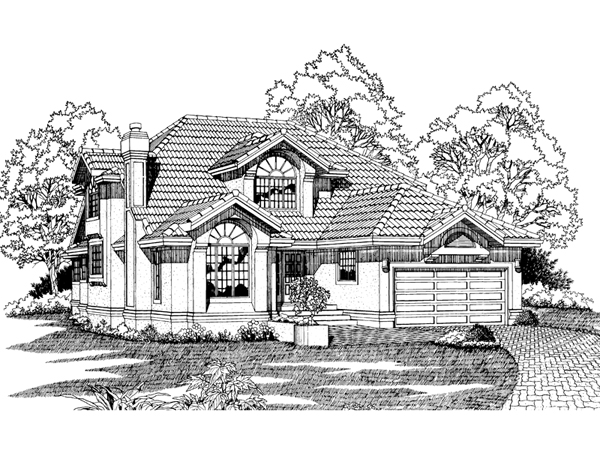 San jose sunbelt home plan 062d 0227 house plans and more for Sunbelt homes