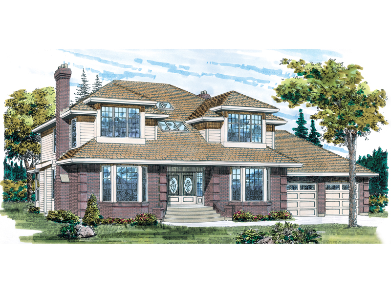 Modern House Plan Front of Home - 062D-0229 | House Plans and More