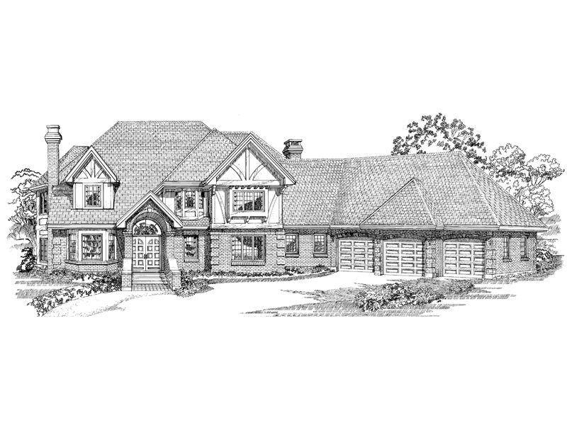 Sprawling Luxury With Subtle Tudor Features