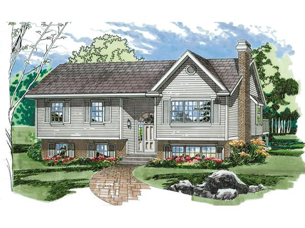 Bi level home plan 2015 home design ideas for Small bi level house plans