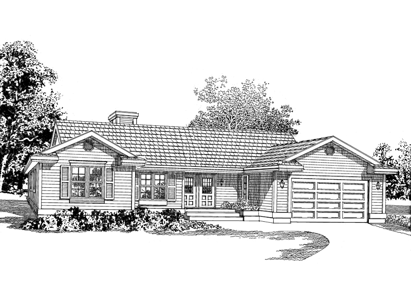 Country Ranch Makes The Perfect Starter Home