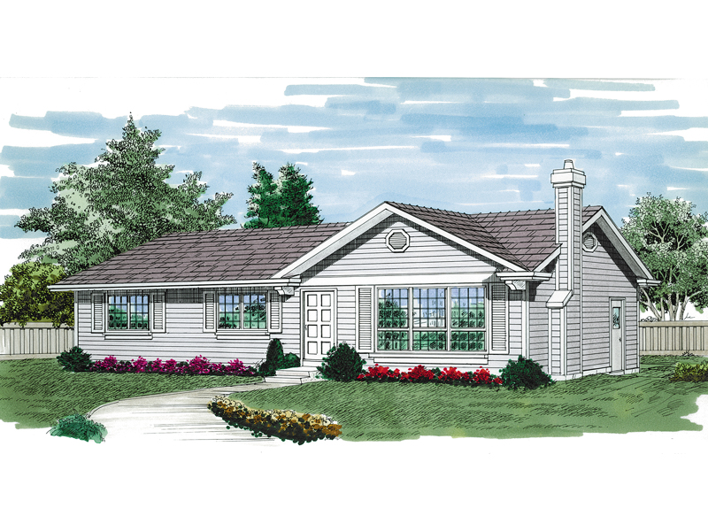 Simple Ranch House With Loads Of Curb Appeal