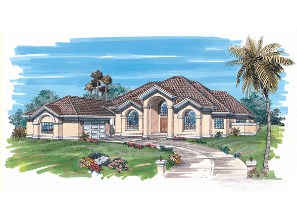 Rosalie sunbelt home plan 062d 0325 house plans and more for Sunbelt homes