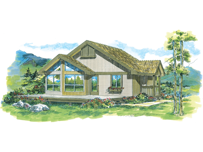 Country House Plan Front of Home - 062D-0327 | House Plans and More