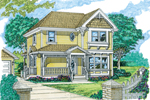 Country House Plan Front of Home - 062D-0360 | House Plans and More