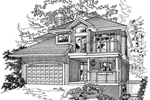 Plantation House Plan Front of Home - 062D-0369 | House Plans and More