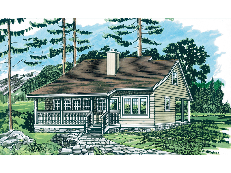 Cozy Country Cottage Plan