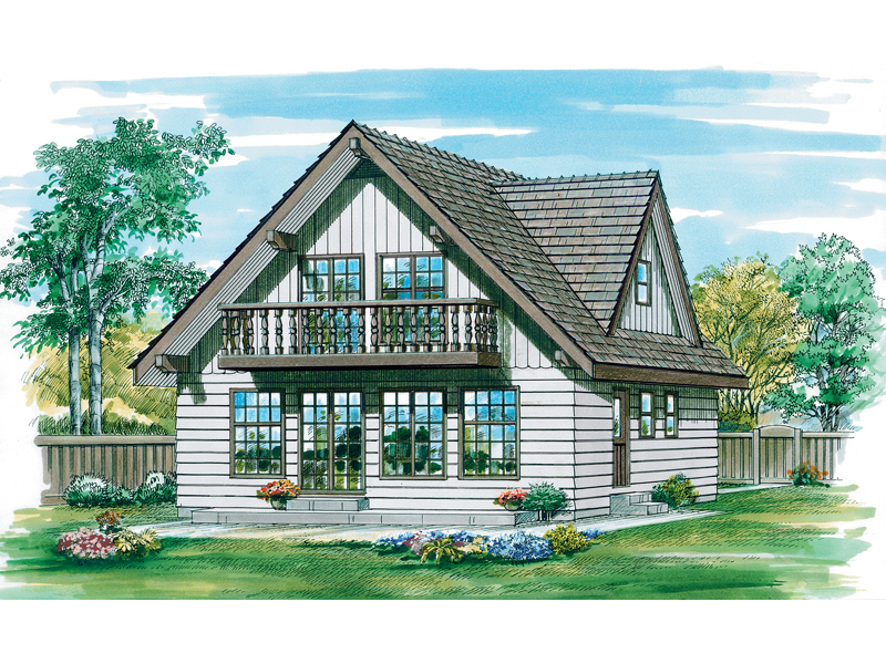 Casual Country Cabin Style House