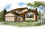 Traditional House Plan Front of Home - 062D-0433 | House Plans and More
