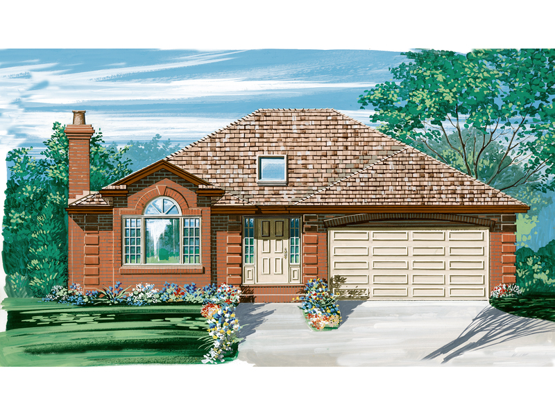 Traditional House Plan Front of Home - 062D-0441 | House Plans and More