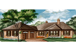 Traditional House Plan Front of Home - 062D-0444 | House Plans and More
