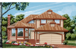 Traditional House Plan Front of Home - 062D-0449 | House Plans and More