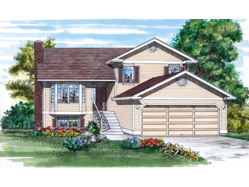 Traditional House Plan Front of Home - 062D-0453 | House Plans and More