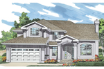 Sunbelt Home Plan Front of Home - 062D-0477 | House Plans and More