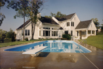 Modern House Plan Pool Photo - 065D-0003 | House Plans and More