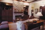 Ranch House Plan Great Room Photo 01 - 065D-0013 | House Plans and More