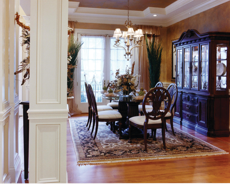 European House Plan Dining Room Photo 01 065D-0024