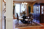 European House Plan Dining Room Photo 01 - 065D-0024 | House Plans and More