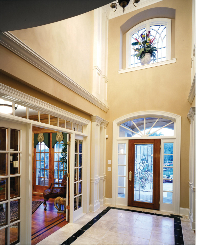 Foyer In Plan : Wainbridge colonial home plan d house plans
