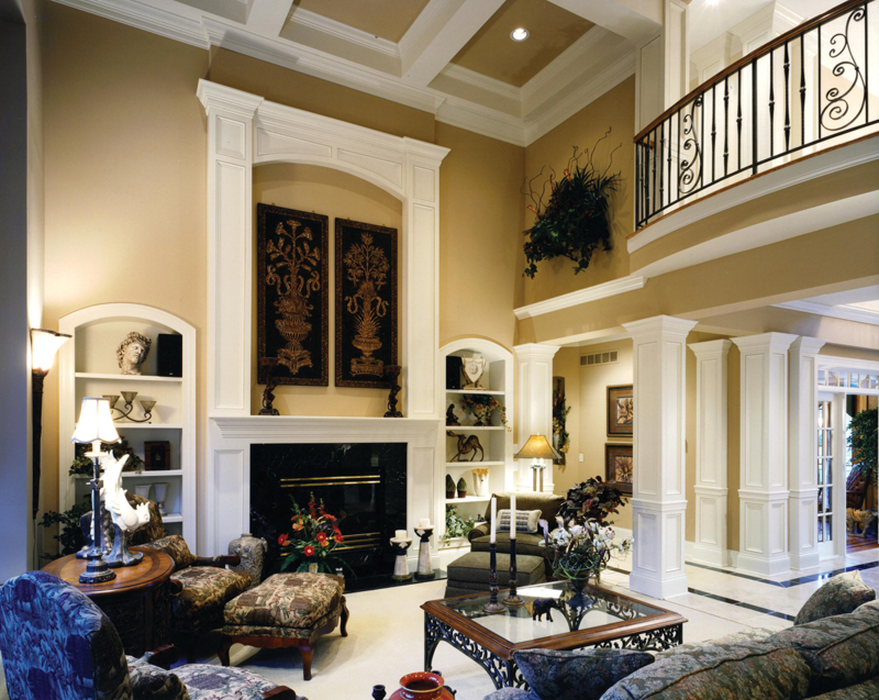 Traditional House Plan Great Room Photo 02 065D-0024