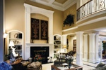 European House Plan Great Room Photo 02 - 065D-0024 | House Plans and More