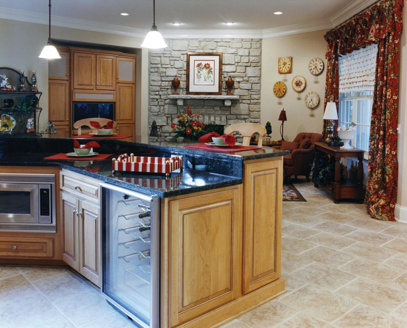 European House Plan Kitchen Photo 01 065D-0024