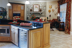 European House Plan Kitchen Photo 01 - 065D-0024 | House Plans and More