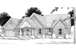 Home With Appealing Multiple Gables