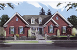 Ranch House Plan Front Image - 065D-0039 | House Plans and More