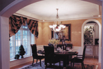 Country French Home Plan Dining Room Photo 01 - 065D-0043 | House Plans and More