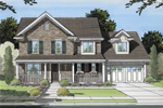 Traditional Home With Formal Country Style