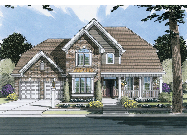 Dove Valley Country Farmhouse Plan 065d 0052 House Plans