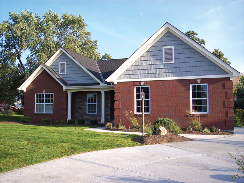 Ideal, Traditional Family Home Plan With Triple Gables