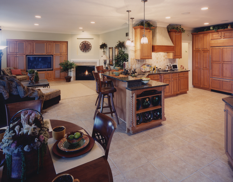 Country French Home Plan Kitchen Photo 01 - 065D-0087 | House Plans and More