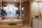 Country French Home Plan Master Bathroom Photo 01 - 065D-0087 | House Plans and More