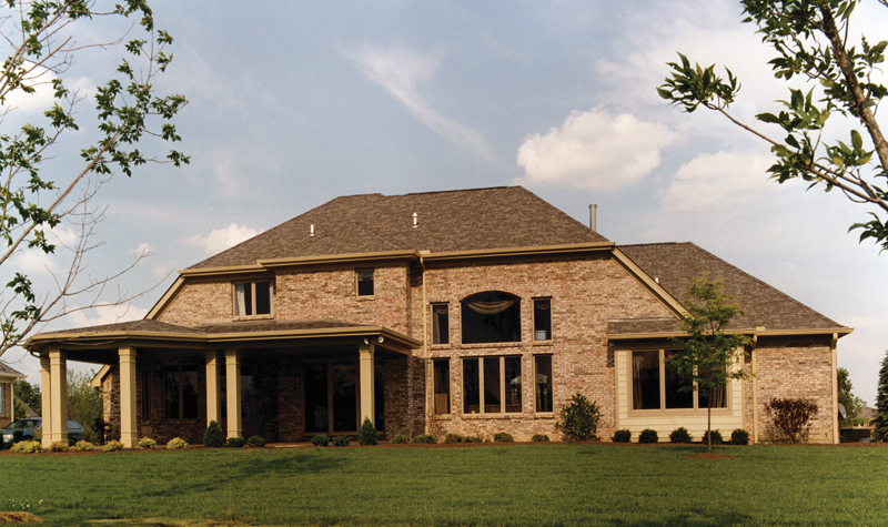 Traditional House Plan Rear Photo 01 065D-0087