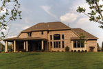 Country French Home Plan Rear Photo 01 - 065D-0087 | House Plans and More