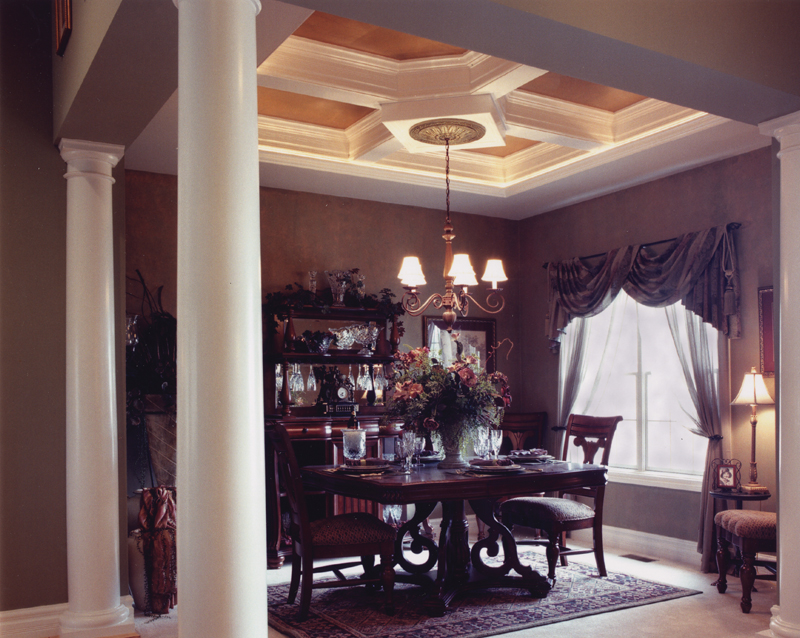 Shingle House Plan Dining Room Photo 01 065D-0103