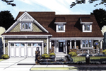 Detailed Craftsman Styled Home With Two Dormers
