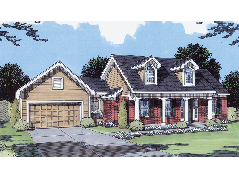Traditional House Plan Front of Home - 065D-0116 | House Plans and More