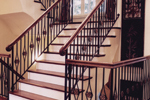 Italian House Plan Stairs Photo - 065D-0120 | House Plans and More