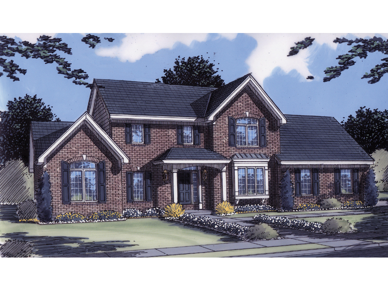Splendid Traditional Home Plan