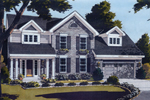 Elegant Colonial Style Home