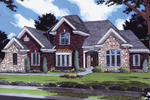 Great European Styled, Traditional Home