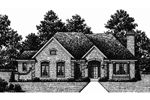 Practical, Traditional Colonial Home Plan